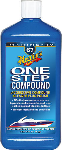 MEGUIAR´S One Step Compound 2 in 1 Schleifpolitur Mittel