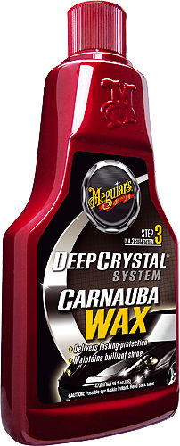 MEGUIAR´S Deep Crystal Wachs – Step 3