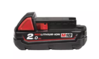 MILWAUKEE M18 B2 18 V AKKU M18 B2 2.0 AH RED LI-ION